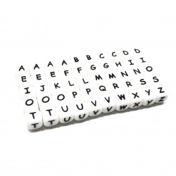 KIT Lettere alfabeto silicone 12mm